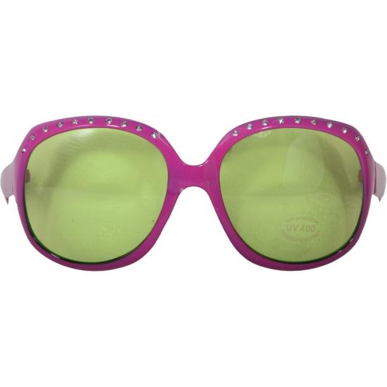 1e6e12aff72d8d Feestbrillen roze met zilveren steentjes bij Speelgoed voordeel ...